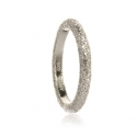 Silver Shimmer Stacking Ring