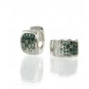 Glitter Chameleon Earrings