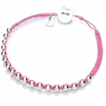Baby Pink Friendship Bracelet by Daisy Jewellery
