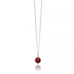 Medina Ruby necklace by Monica Vinader