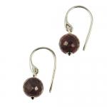 Medina Ruby earrings by Monica Vinader