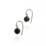 Medina Onyx earrings by Monica Vinader
