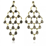 Polly Chandelier Earrings by Monica Vinader