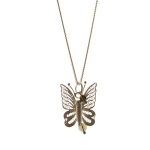 Filigree Butterfly pendant by Mirabelle