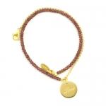 Garnet Love Charm Bracelet by Assya