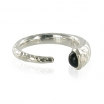 Medina Onyx ring by Monica Vinader
