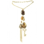 Gold Key Lariat by YLA